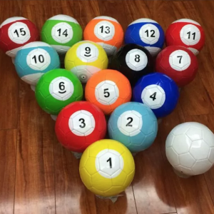 3# 4# 5# 16 Pieces 16 Pieces A Lot Snook Soccer ball,Billiard ball,Snooker Football for Snookball